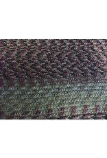 BURGUNDY/SAGE/BLACK TABLE ACCENT RECTANGLE RUNNER