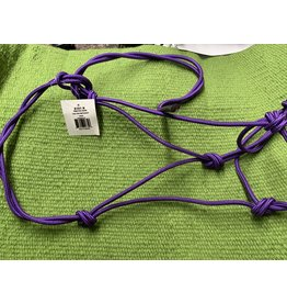 HALT* Mustang Twisted Rope Halter - Purple NO LEAD  - 292811-22