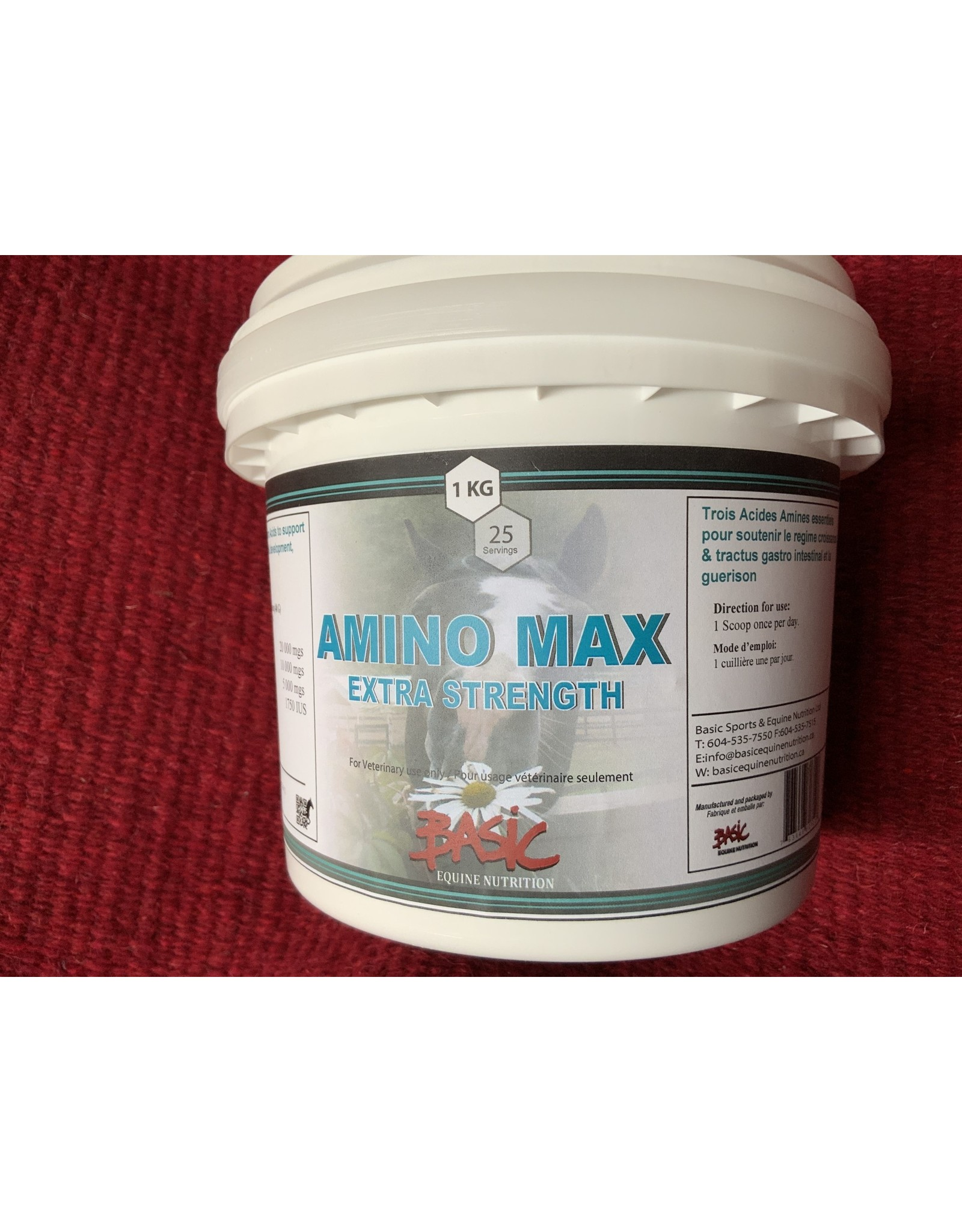 Amino Max Extra Strength *with natural Vit. E*  1kg - 80710