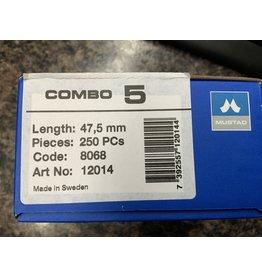 NAIL  MUSTAD - Combo 5 - 250 pc