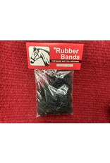 Braiding Rubber Bands - Black - #100-634 ****Back Ordered****