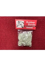Braiding Rubber Bands - White  #100-635