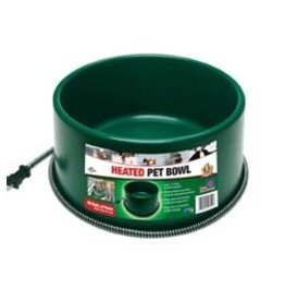 Heated Pet Bowl (cord can come off) D28-P60