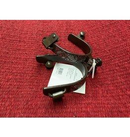 SPUR* Antiqued Engraved Roper Spur - 335819