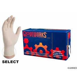 Latex Gloves - X-Large  (Gloveworks)
