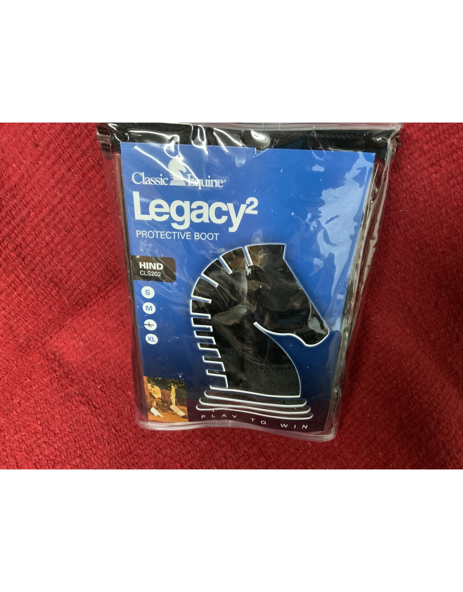 Classic Legacy2 -HIND -LRG-  BLACK #CR/CLS202BKL