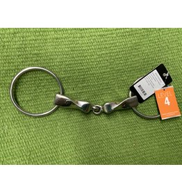 BIT* Level 4 Metalab Twisted Mounthpiece loose ring snaffle BE001P030000514