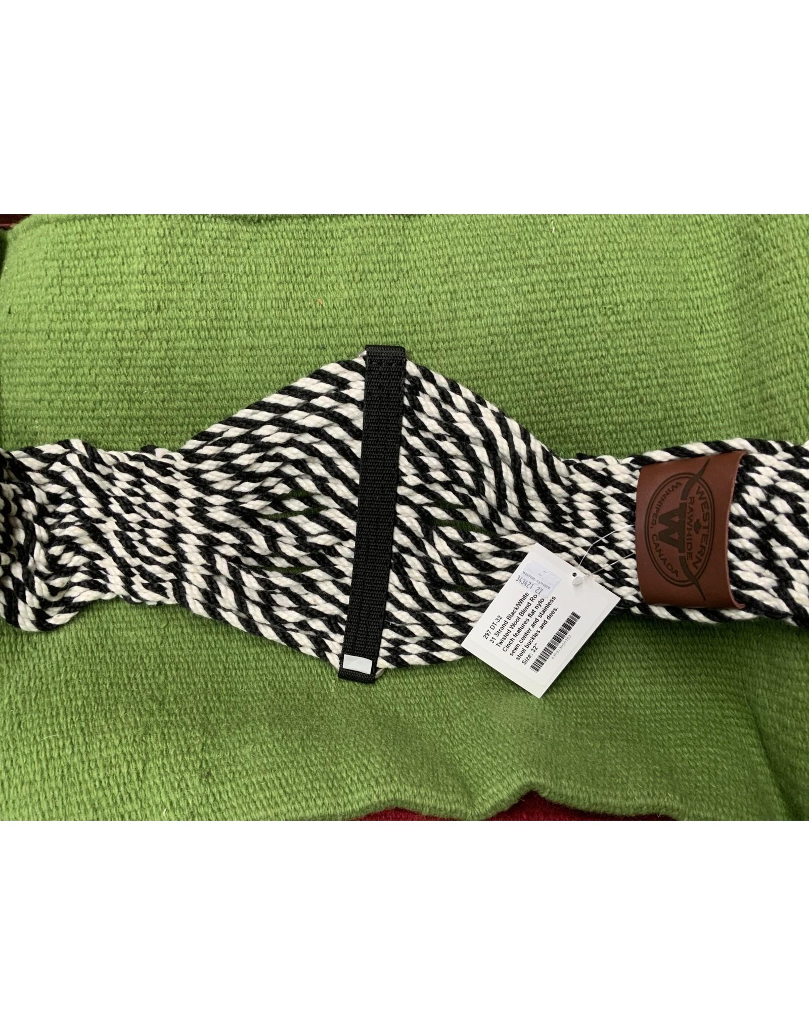 CIN* black/white twisted wool blend 343421 - 27-32'