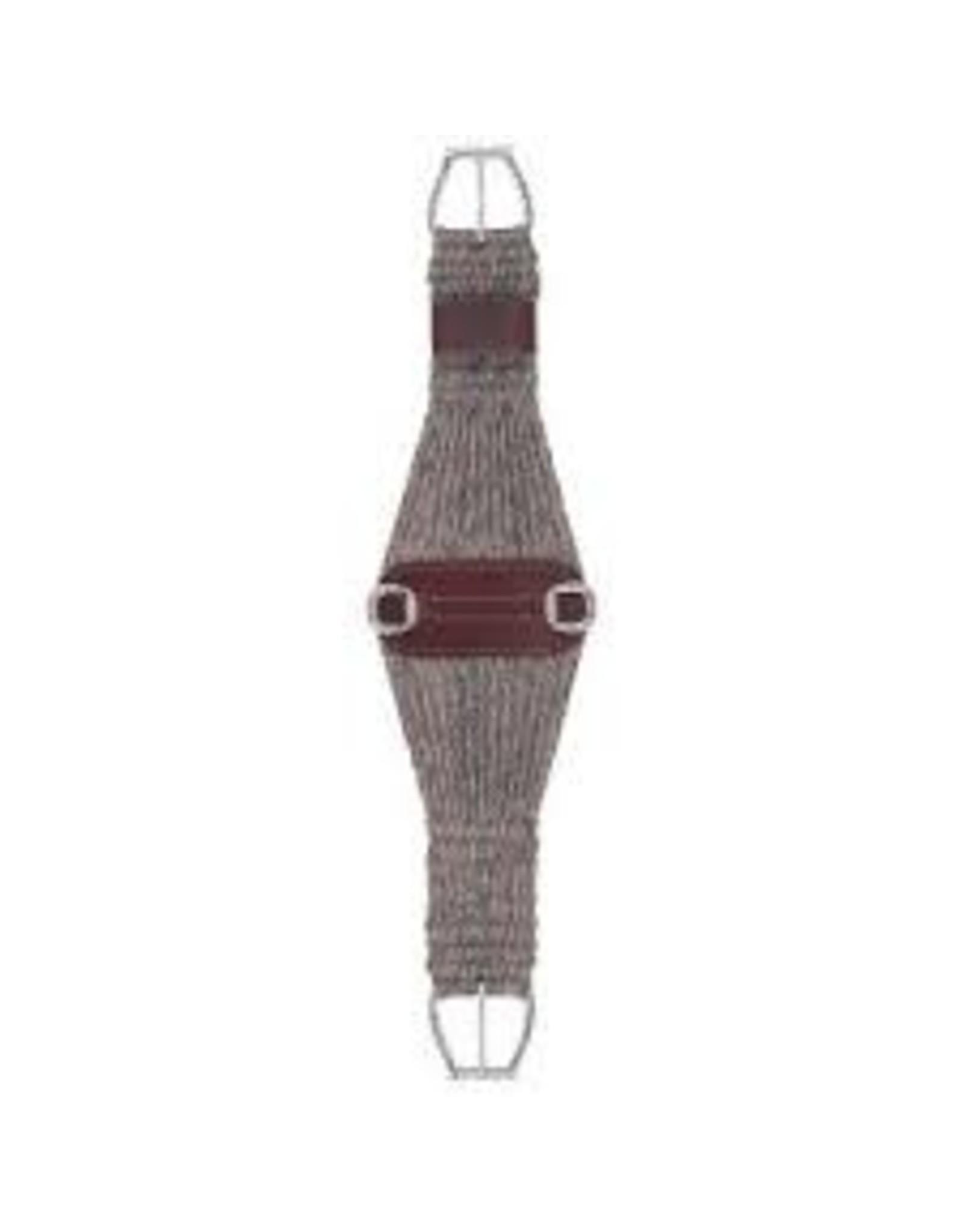 CIN* 100% Alpaca Roper Cinch 28''  35-2439-28  AAAA*P (fancy roller buckles and one side leather cinch holder)