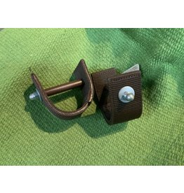 "STIR* stirrup straight strap 3"" brown 72-2060"