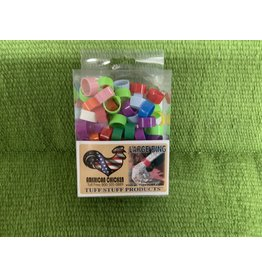 poultry leg band- assorted colors- 100 pack Large 027434