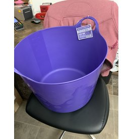 PAIL* TUFFSTUFF Flex tub 12 gallon- Purple- 671621