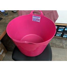 PAIL* TUFFSTUFF Flex tub 12 gallon- Pink- 671624