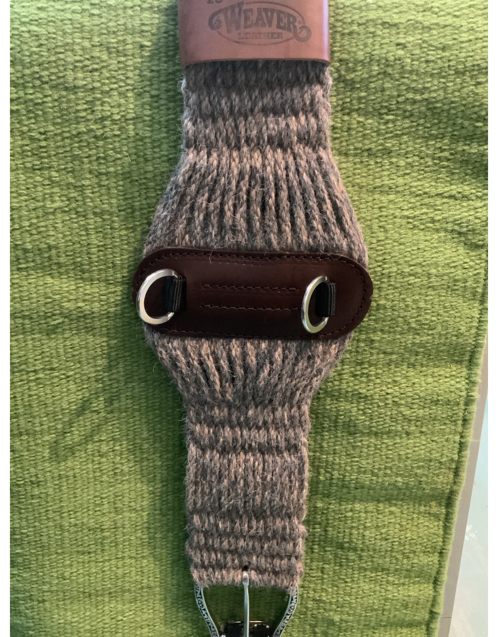 CIN* 100% Alpaca Roper Cinch 34''    35-2439-34   AAAA*P (fancy roller buckles and one side leather cinch holder)