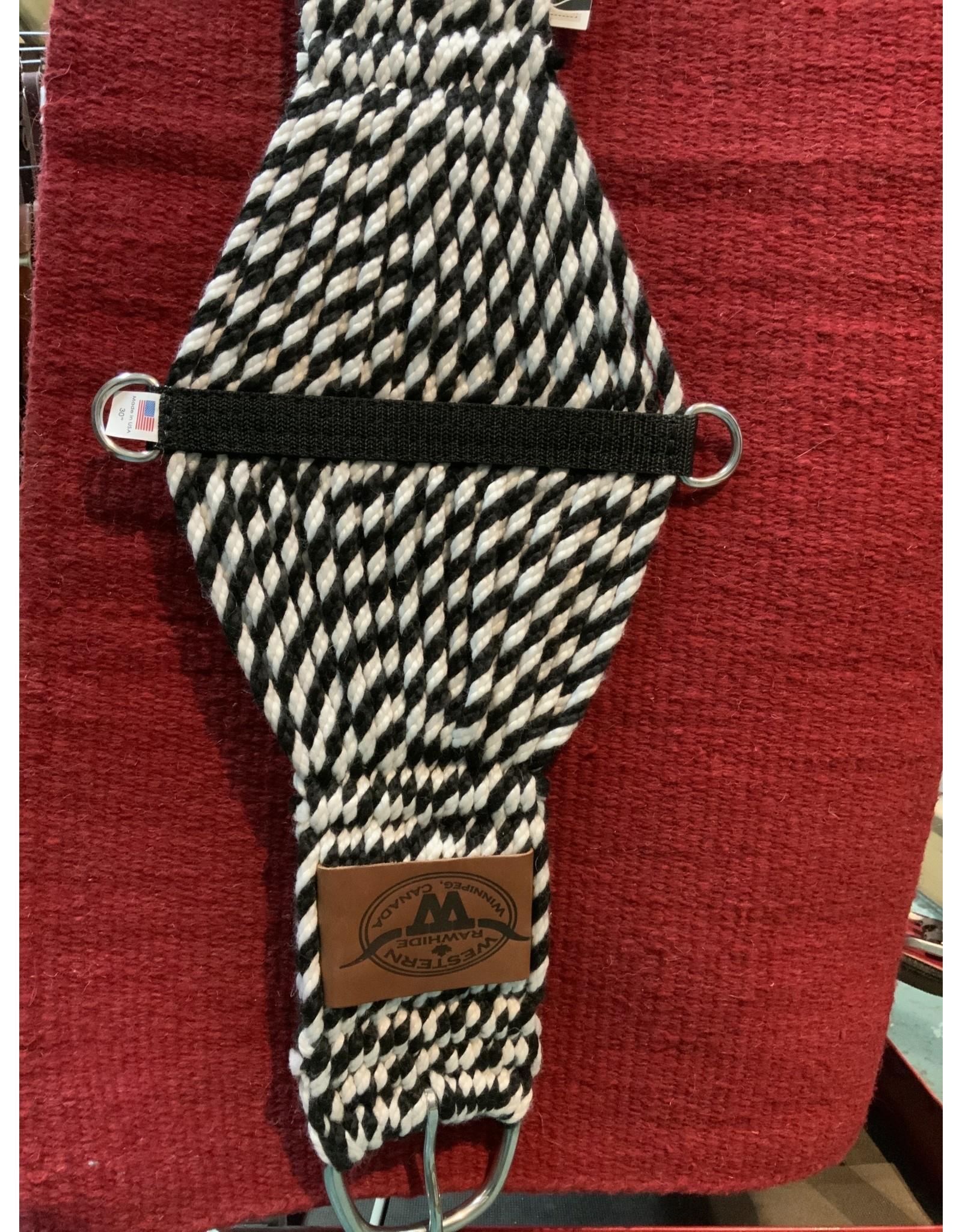 """CIN* black/white twisted wool blend 343421-27-30"""""""