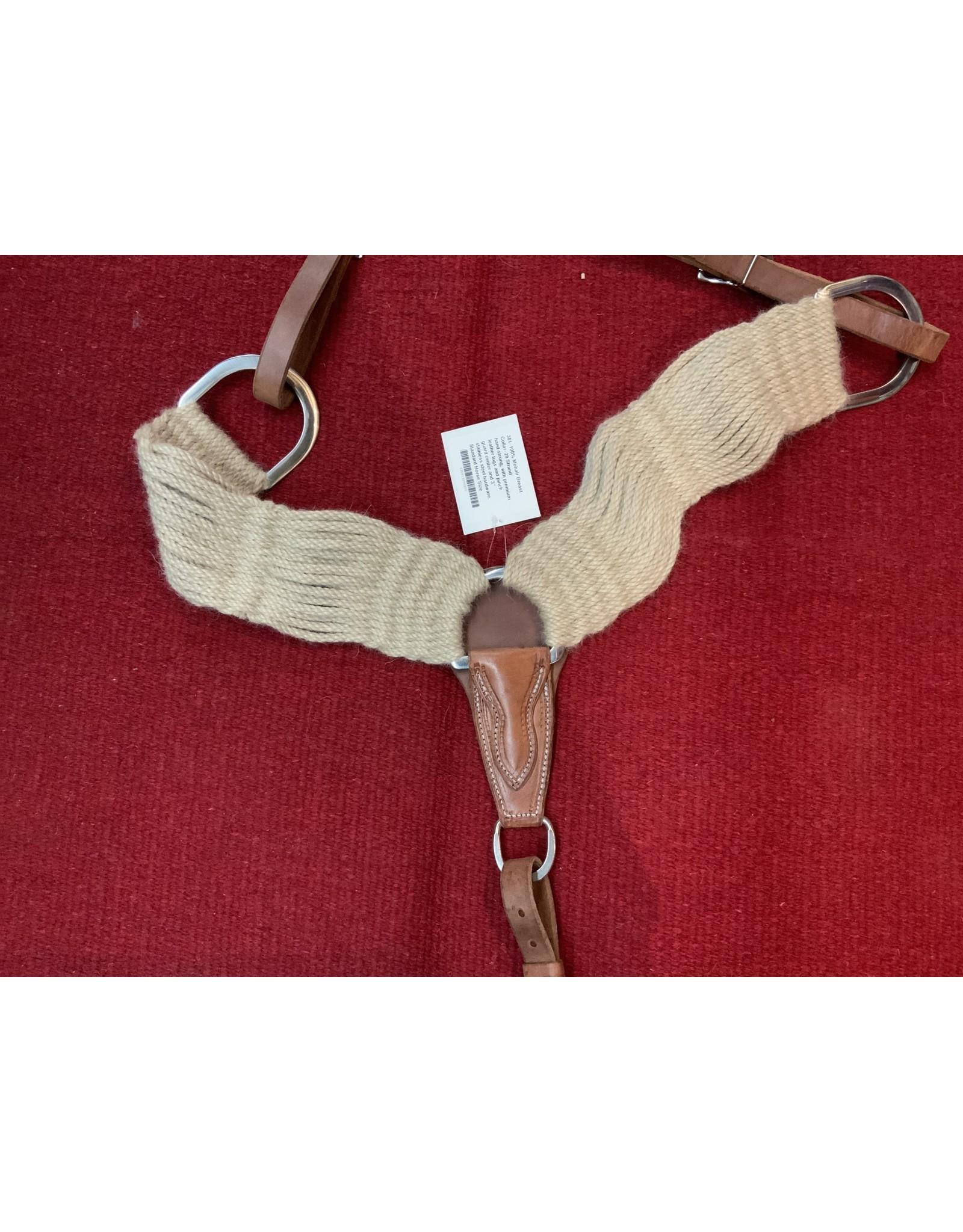BB* 100% Mohair Breast Collar 29 strand 202077-11