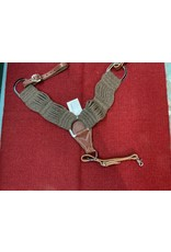 BB* 100% Alpaca breast collar brown  202076