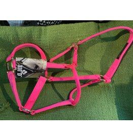 Medium Horse Halter - Bright Pink