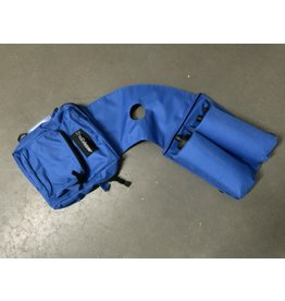 Deluxe Poly Horn Bag With 2 Water Bottles - Royal Blue - 241900-45
