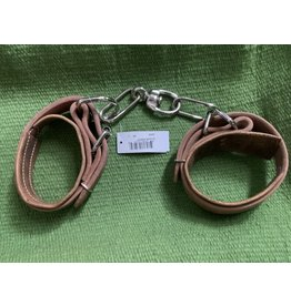 Leather Chain Hobbles - Golden- Cow - #106402