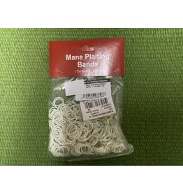 MANE BRAIDING BANDS- WHITE - #374480-09   9999*P (order from Kane)
