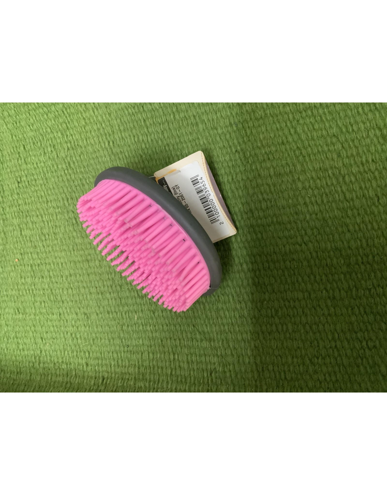 Brush* Palm Curry (fine) Gray/Pink 65-2061-GY