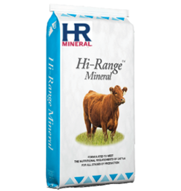Cattle Mineral (Loose) All Year Quality Mineral  * HI-RANGE FORAGE BF MIN PLN MEDICATED WITH * RUMENSIN * *perfect all round bag mineral * 873951