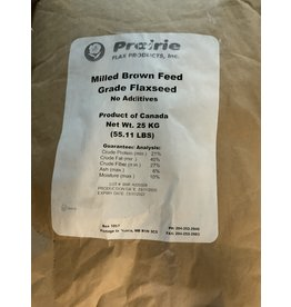 MILLED FLAX SEED - 25 KG OMEGAFLX C-can