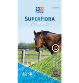 PURINA*  SUPERFIBRA INTEGR-T 35610 - Must be be fed soaked.  Complete Feed guaranteed max 10% NSC.  Ideal for  horses with Metabolic Issues  9999*N (Special order)