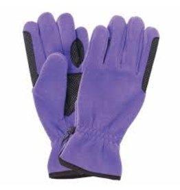 GLOVE* Equistar Cozy Fleece Glove - Purple - Size A 464265-18/A
