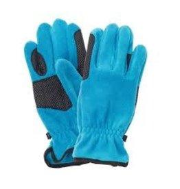 GLOVE* Equistar Cozy Fleece Glove - Green- Size A 464265-26/A
