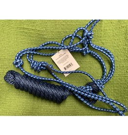 HALT* Economy Mountain Rope Halter with Lead -  Navy/Blue/Baby Blue - #292984-76