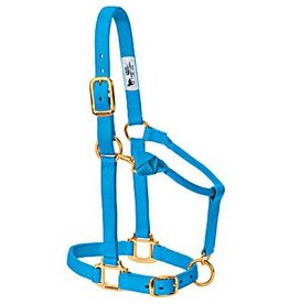 HALT* Average Adjustable Halter Hurricane Blue - 35-7035-HB (Med Horse or Yearling Draft Horse)