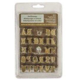 HotStamps - Alphabet Set Uppercase - 67-7262