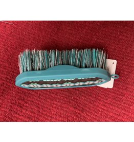 GROOM BRUSH -LARGE TEAL/DIAMOND  #69-6087-211