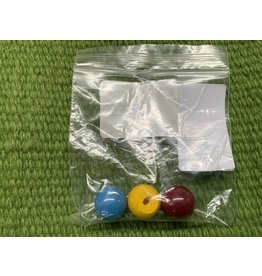 MR2 Knob Pack (colored pack for syringes) yellow blue red 3 Pack 044-846
