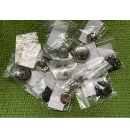 CONCHOS- Variety of Sizes and Designs