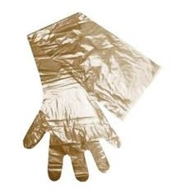 """Obstetrics Glove - Brown 39"""" Long, 32um thick.  100 pk - 130914"""