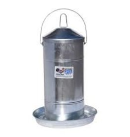 Poultry Galvanized Feeder w/Handle 44lbs 678144