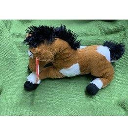 """Stuffed horse- Lying- 13"""" 87-1161-0-0"""