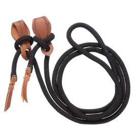 """REINS* Rope rein with slobber strap 5/8"""" 10' 45-310-2-0"""