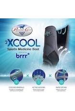 2XCOOL - Sports Medicine Boots -wine -*pack of 4*Medium - XC4M-wine