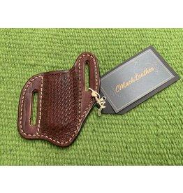 Mack Leather * Knife Sheath - Hand Made - Stamped