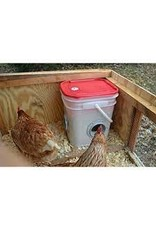 Chicken Feeder 20 lb , Corner Placement - TBLCFC -20