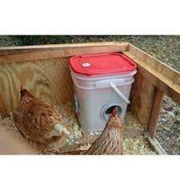 Chicken Feeder 20 lb , Corner Placement - TBLCFC -20