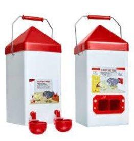 Chick Feeder & Water Combo 1 Gal - BLchickfeeder/water set