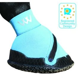 Foot care boot- Fabric w/zipper- Turquoise Size 4 WB0063-blue-H$