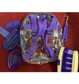 Grooming Kit Backpack - Purple - 5 Items - 375708-22