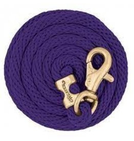 """POLY LEAD ROPE 10"""", Bull Trigger -  PURPLE - 35-2111-S12"""