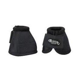 Bell Boot- No Turn Ballistic Nylon Bell Boots - Medium - Black - 35-4276-S1
